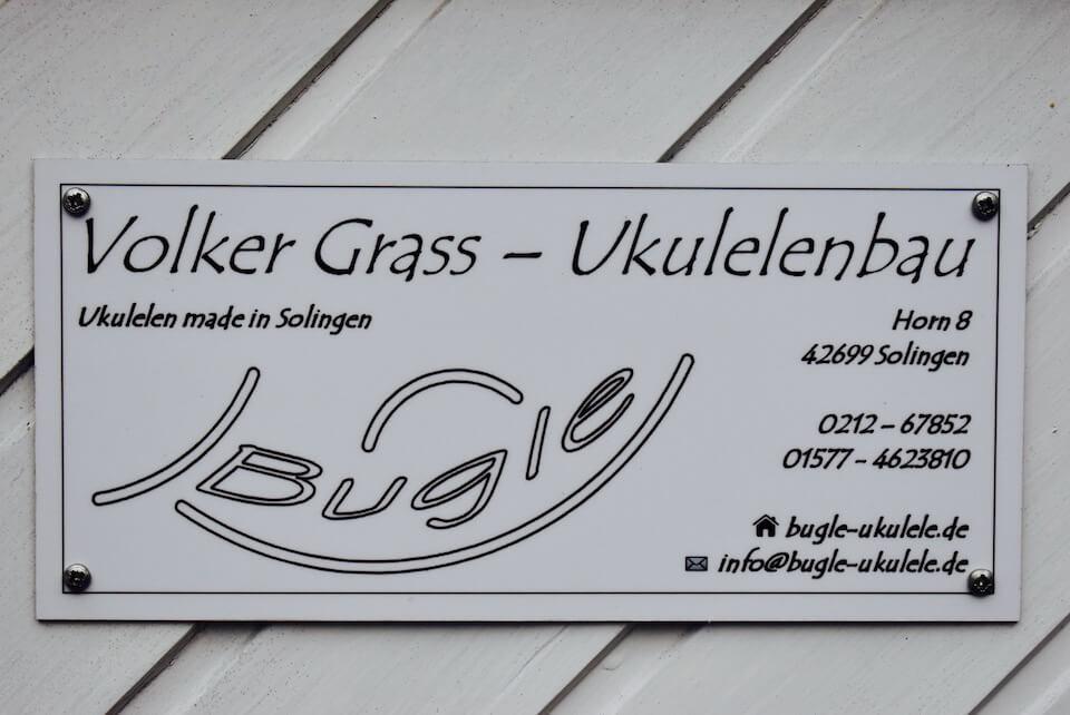 Volker Grass ist das Gesicht hinter Bugle-Ukulele in Solingen