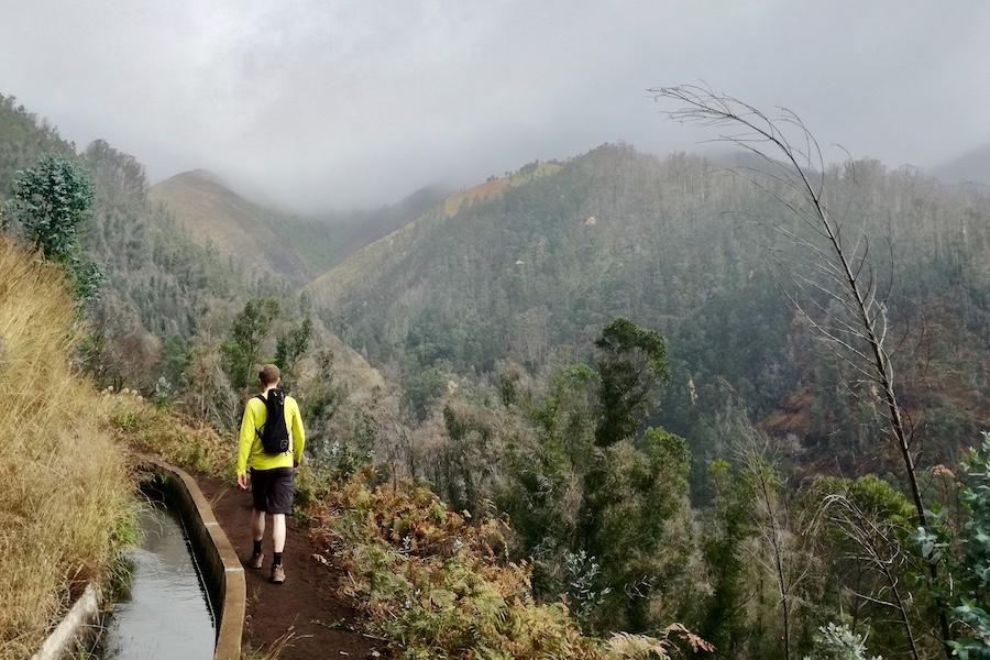 Wandern mit der Ukulele auf Madeira