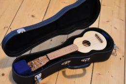 Für den Sopranino-Koffer von Ohana ist die Allegro zu klein