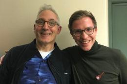 Zwei Jahre nach meinem Ukulelenbaukurs gab es ein Wiedersehen mit Pete Howlett