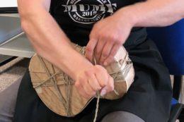 Tom Ziegenspeck gab in seinem Workshop eine Antwort auf die Frage, warum Binding Binding heißt