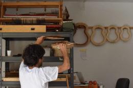 Nur Marco weiß, wo in seiner Werkstatt welches Werkzeug versteckt ist