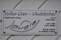 Am Horn von Solingen baut Volker Grass Ukulelen in allen Größen und Ausführungen